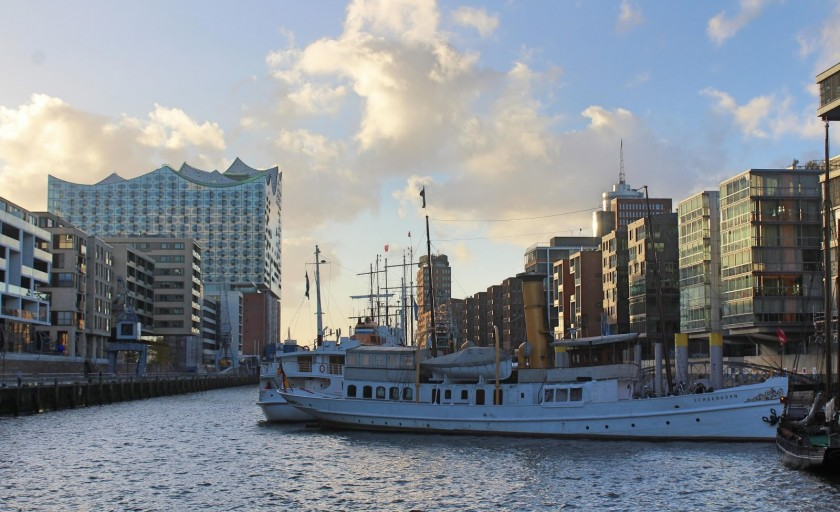 Exploring Hamburg, The Harbour City