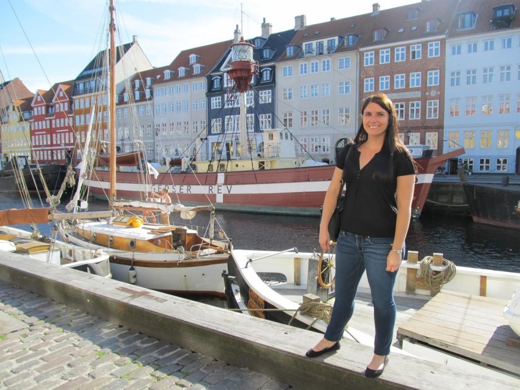 Caroline in Copenhagen