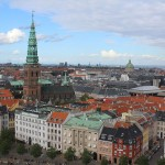 View from Christiansborg Tower